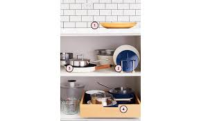 how to organize pots and pans in cabinet how to organize your pots and pans real simple