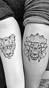 27 best lion tattoos for couples images on pinterest lion tattoo