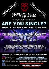 butterfly buss singles launch party fleet street kitchen