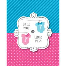 amazon com 8 count baby shower invitations bow or bowtie