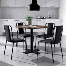 tables rondes de cuisine table ronde 4 pieds