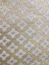 ivory upholstery fabric chenille floral craft fabrics ebay
