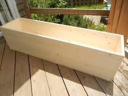 diy planter box planting for privacy diy wood planter just decorate