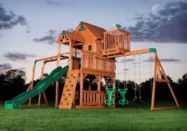 big backyard swing set home outdoor decoration