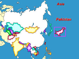 asia map and countries map puzzle of asia countries and capitals