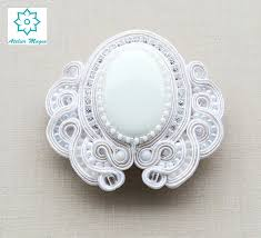 barrette hair soutache hair barrette hair clip pin hair clasp bridal