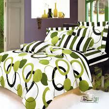 Twin Duvet Cover White Lime Green Black White Teen Bedding Twin Duvet Cover Set
