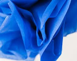 royal blue tissue paper aqua blue tissue paper premium tissue paper 24 sheets