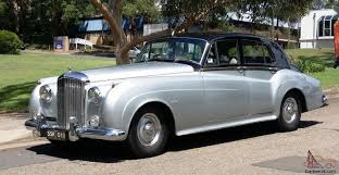 silver bentley s1 1957 black over silver made by rolls royce in blacktown nsw