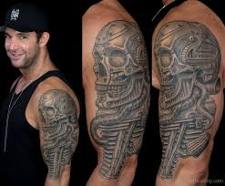 biomechanical tattoos designs pictures page 4