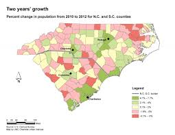 Sc Metro Map by Charlotte Metro Still High Growth Still Strong At Core Unc