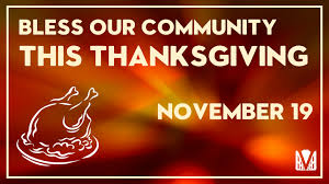 bless our community this thanksgiving church