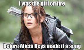 Thg Memes - the girl on fire bitches via tumblr image 1055292 by awesomeguy