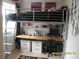 Small Bedroom Double Bed Ideas High Sleeper Loft Beds And On Pinterest Dreams Double Metal Bed
