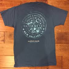 water meter new orleans southern marsh other new orleans water meter southern marsh shirt