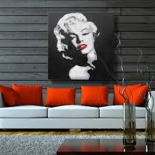 marilyn monroe home decor sexy marilyn monroe home decor canvas wall pictures for living room