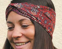 hippie headband hippie headband etsy