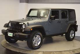 Used Jeep Wrangler Unlimited 2015 Used Jeep Wrangler Unlimited 4wd 4dr Sport At Hudson Chrysler