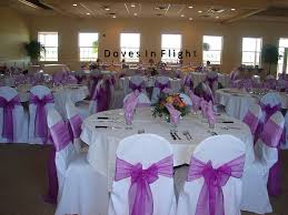 purple chair covers chair covers of lansing doves in flight decorating