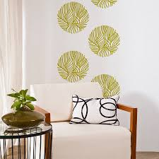 leaf pattern wall sticker by sirface graphics notonthehighstreet com leaf pattern wall sticker