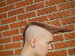 1980s wedge haircut psychobilly quiff hairstyle color