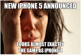 Iphone 4s Meme - the iphone 5 story in 5 memes newegg insider