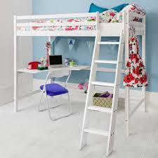 white high sleeper cabin bed with desk noa u0026 nani