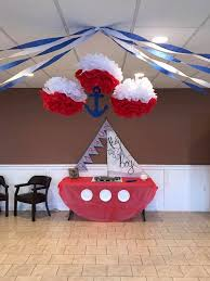 Nautical Themed Baby Shower Banner - best 25 nautical party centerpieces ideas on pinterest nautical