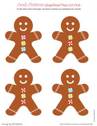 Christmas Cutout Decorations Candy Christmas Cut Outs Diy Printable Parties Matteo 1