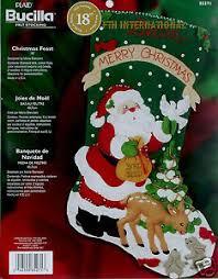 bucilla christmas bucilla christmas feast 18 felt christmas kit 85271