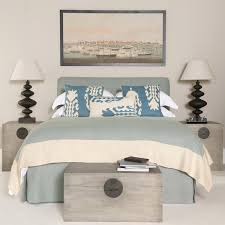 Headboard With Slipcover Double Linen Headboard Slip Cover Oka