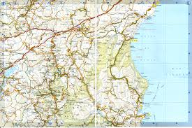Sardinia Map Road Map To Nuoro The Capital City Of The Eponymous Province Is