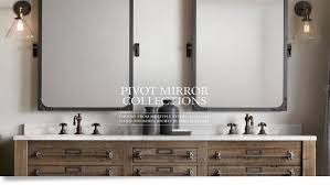 Brushed Nickel Bathroom Cabinet Bathroom Cabinets Oval Mirror With Bathroom Pivot Mirrors Wall