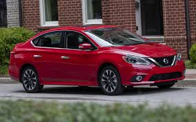 red nissan sentra nissan sentra sr turbo 2017 wallpapers and hd images car pixel
