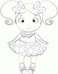 draw baby doll coloring pages 44 for coloring pages online with