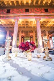 Red And Gold Reception Decoration A Modern And Sophisticated Red And Gold Wedding In Memphis
