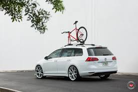 volkswagen golf wheels new volkswagen golf sportwagen gets vossen wheels autoevolution