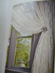 Country Chic Shower Curtains Lace Curtains I Want To Cover The Ugly Brass Showerdoors With