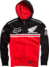 fox honda motocross gear fox 2014 honda race zip hoody bto sports