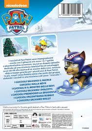 amazon paw patrol salvataggi invernali dvd acquista