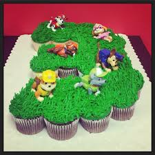 Paw Patrol Cupcake Cake Completed Pinterest Projects Pinterest