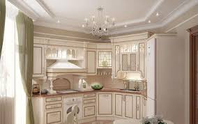 Ivory Luxury Kitchen Cabinet For Lavish Kitchen Ideas With Elegant - Classic kitchen cabinet