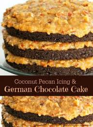 coconut pecan icing and german chocolate cake recipe coconut