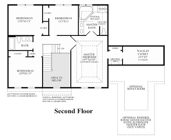 100 colonial floor plan huntcliff manor house plan 09130