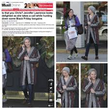 black friday hunger games retail therapy jennifer lawrence hits the shops on black friday