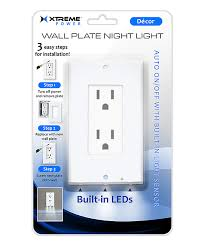 wall plate with built in night light xtreme wall plate night light zulily