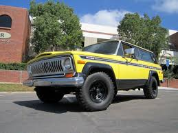 tan jeep cherokee seller of classic cars 1977 jeep cherokee yellow tan