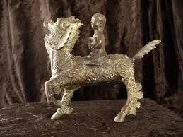 qilin statue copper qilin statue a1002 the qilin is a mythical hooved