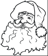 santa claus sleigh reindeer coloring colouring pages free