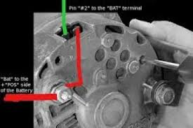 1 wire alternator diagram wiring diagram